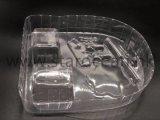 流行の専門の明確なアクリルのプラスチック装飾的な皿170*170*140mm