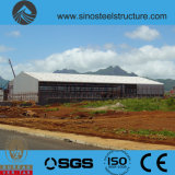 세륨 ISO BV SGS에 의하여 전 설계되는 강철 건축 창고 (TRD-081)