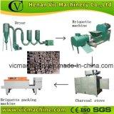500kg/h Usine de production de briquettes de la biomasse de la machinerie