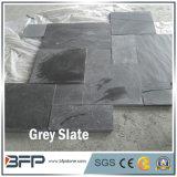 외부 벽 훈장을%s 대중적인 백색 회색 슬레이트 모자이크 패턴