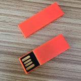 Disco plástico de memoria Flash del clip del sujetalibros de la alta calidad (YT-3236)