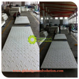 A cor branca/HDPE Resistência Química/preço barato Flooring folhas para a Europa