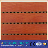 Soundproof Ceiling를 가진 Performance 내화성이 있는 MDF Wooden Grooved Acoustic Panel