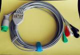 Kontron 12pin 3&5 Snap&Clip ECG 케이블