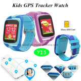 2g/GSM GPS van jonge geitjes de Drijver van het Horloge met het Kleurrijke Scherm van Aanraking 1.44 '' TFT