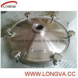 Stainless sanitario Steel Presure Manhole Cover con Sight Glass