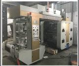 120m/Min de Machine van de Druk van Gearless Flexo van de Hoge snelheid voor het Broodje van de Plastic Film van het Document (nx-B)
