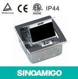 Sinoamigo Alumínio Floor Socket Box