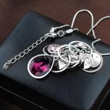 Hoogste Kwaliteit de Halsband van de Juwelen van de Tegenhanger van de Ketting van Dame Fashion Witgoud