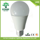 A60 PC Housing와 Aluminum Heatsink 12W LED Bulb