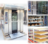 Apparatuur 16 van het Baksel van het brood de Diesel van het Dienblad Roterende Oven van de Bakkerij