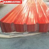 Prezzi ondulati galvanizzati delle lamiere di acciaio per tetto