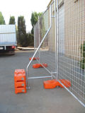 Concrete를 가진 한번 불기 Moulded Temporary Fencing Feet