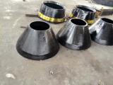 L'usura del frantoio del cono parte il manto concavo per attrezzatura mineraria