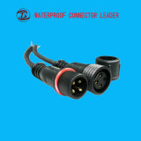 12mmケーブルLEDのコネクター4 Pin電気接続ケーブルのプラグ
