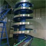 Ролика PVC рядков силы тяжести транспортер двойного плоский