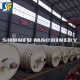 Der meiste populäre aufbereitete Kraftpapier-gewölbtes Papier-Zerfaserer-maschinelle Herstellung-Geräten-Preis