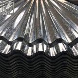 屋根のための0.4mmの亜鉛によって塗られる電流を通された波形の鋼板