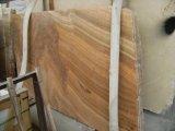 ブラウンのカウンタートップのための木製の静脈の大理石