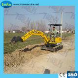中国の高品質の掘る機械0.8 - 1.8ton小さい小型掘削機