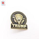 Pin promozionale del risvolto del briscola dello sceriffo del metallo di colore dello smalto dell'OEM