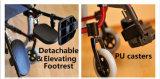 反ダンプカーが付いているTopmediの医療機器の自動推進アルミニウム車椅子