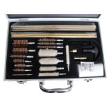 27 PCS Kit de limpeza da escova em liga de alumínio (LP901)