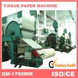 туалетная бумага 1760mm делая машину, бумагу рециркулируя промышленную машину