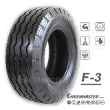 3 costilla neumático de Tractor agrícola de los neumáticos de orientación de la dirección delantera