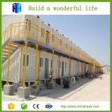 Prefabricated 가벼운 강철 프레임 구조 별장 집 그림
