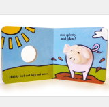 Personalizar el aprendizaje temprano de bebé libro títeres de dedo