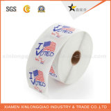 Excelente calidad de impresión personalizada auto-adhesivo rollo de etiquetas autoadhesivas