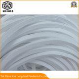 Fabricação de embalagem de PTFE puro de boa qualidade com óleo; 100% de Teflon PTFE puro trançado Corda de embalagem