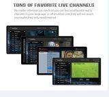 Van Ipremium I9 UHD 4K IPTV de Androïde 6.0 dvb-S2 T2/C isdb-t Stromende Doos van Doos