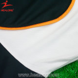 Healong passte Breathable Sublimation-Drucken-Fußball Jersey an