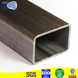 Negro tubo rectangular de acero al carbono tubo rectangular