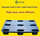 Bandeja de plástico de HDPE alimentar bens de equipamento pesado de paletes de plástico durável
