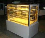 Il contatore della visualizzazione della torta/ha refrigerato la cassa di visualizzazione delle torte/del frigorifero visualizzazione della torta
