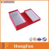 Rectángulo de papel de empaquetado del regalo de encargo para la Navidad cosmética del chocolate de la vela del caramelo del perfume