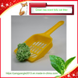 Control de olores el té verde El Tofu con arena de gato directa de fábrica