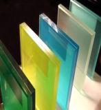 カラーガラス(JINBO)が付いている高品質の薄板にされたガラス