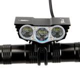 Mode Xm-L T6 DEL des lumens 4 de la lumière 8000 de bicyclette faisant un cycle la lumière de vélo de lumière avant
