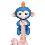 Le meilleur singe matériel de poissons jeunes de jouet de doigt d'intelligence