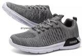 Nueva moda Deportes zapatillas zapatos con Flyknit ejecuta la parte superior para hombres y mujeres (832)