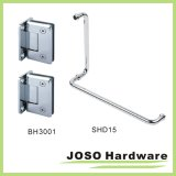 도매 Shower Glass Door Shower Hinge와 Door Handle Set