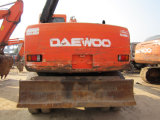 La alta calidad de la Daewoo 130W-5 de la excavadora de ruedas