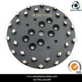 250 мм 20 Seg алмазные шлифовальные пола пластину