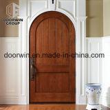 Schalldichtes Schlafzimmer-feste Eichen-Holz-Tür mit gewölbtem Spitzenentwurf