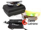 C2 Lunettes de soleil tactiques Lunettes de sport de protection avec lentille de Changeblae