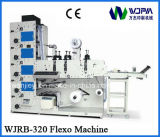Machines D'impression Flexographique D'étiquettes Automatique (WJRB320A)